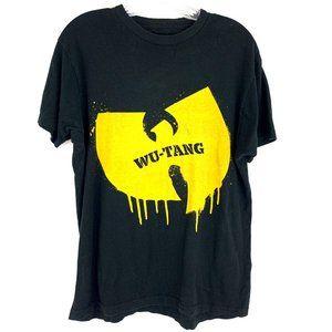 Wu Tang Clan Rap Hip Hop Concert Band Tee Shirt L